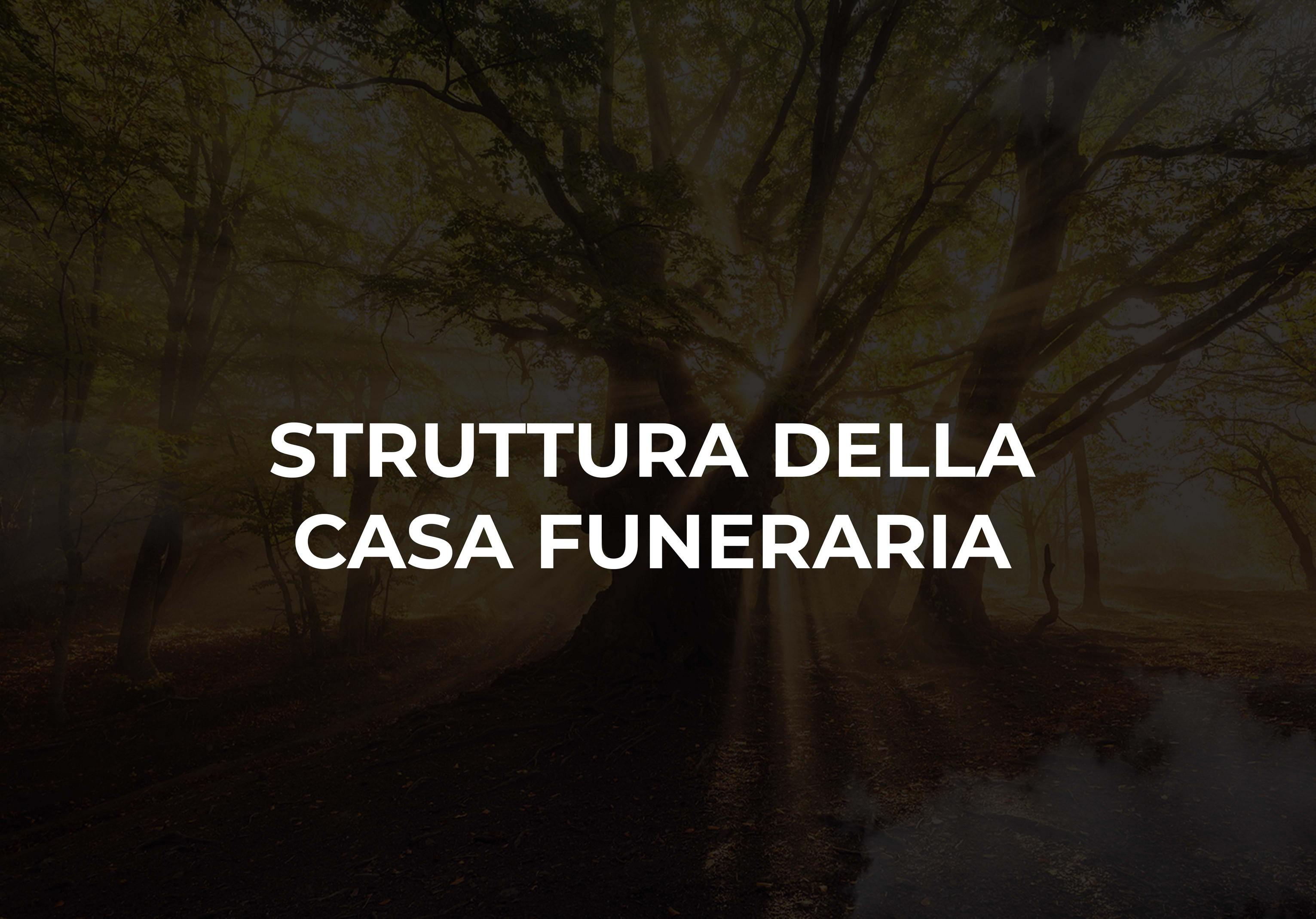 struttura della casa funeraria